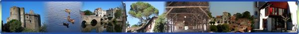 Les multiples facettes de Clisson, ville au parfum d'italie à 10mn de Boussay.